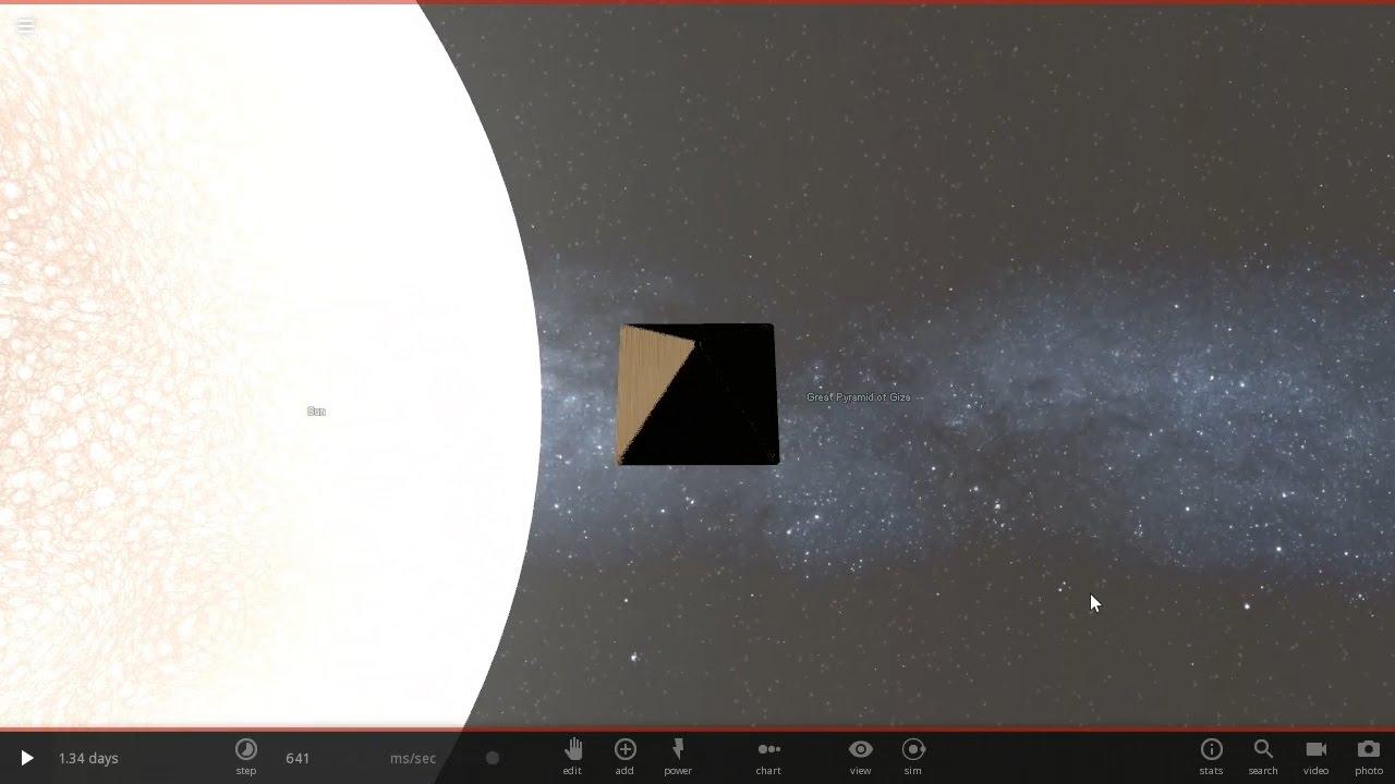 Pirámide Gigante vs Sol - #AbrilVideosMil #18