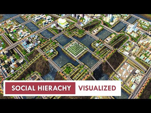 Pyramid City | Time-lapse building a Tiered Layout in Cities: Skylines