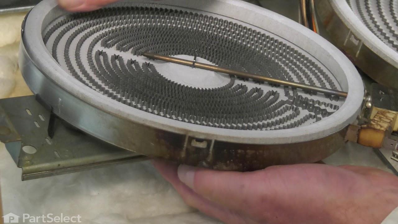 Replacing your Frigidaire Range Dual Radiant Surface Element