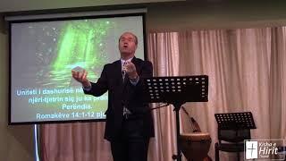 08 Prill 2018 Romakëve 14:1-12 pjesa 1 Uniteti i dashurisë në Kishë: Pranojeni njëri-tjetrin siç ju