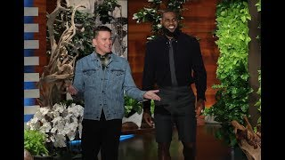 Channing Tatum Wants to Get LeBron James on the 'Magic Mike Live' Stage