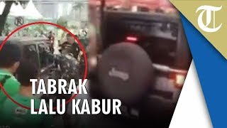 Video Detik-detik Jeep Rubicon yang Tabrak Panitia Milo Run 2019 Dikerubungi Massa