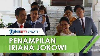 Penampilan Ibu Negara Iriana Jokowi dalam Acara Pelantikan Presiden dan Wakil Presiden