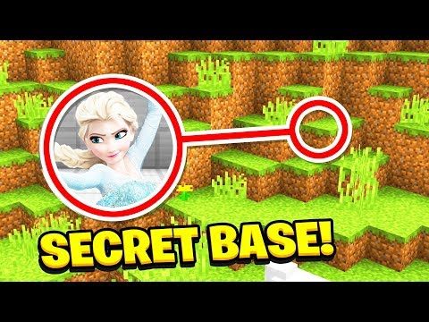 Minecraft : We Found ELSA'S SECRET BASE!(Ps3/Xbox360/PS4/XboxOne/PE/MCPE) (видео)