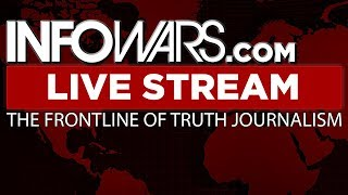 📢 Alex Jones Infowars Stream With Today's Commercial Free Shows • Wednesday 10/18/17