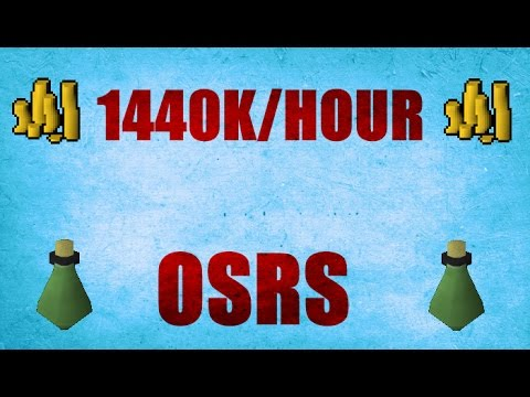 OSRS - Up To 1700k An Hour While Training Magic! Oldschool