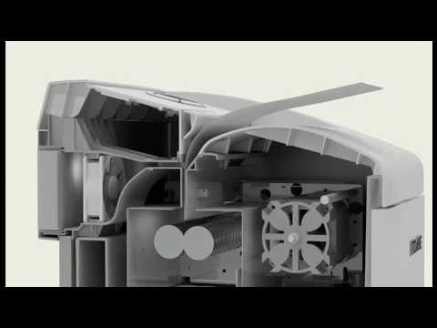 Video of the DAHLE 614air Top secret A3 140 Litre Shredder