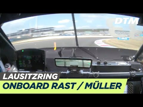 DTM Lausitzring 2019 - René Rast/ Nico Müller (Audi RS5 DTM) - RE-LIVE Onboard (Race 1)