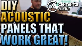 Grant from Clements Audio shows you how to make sound baffles.