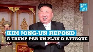 Corée du Nord vs États-Unis : Kim Jong Un répond à Trump par un plan d
