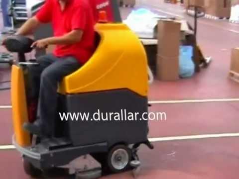 Fiorentini ET-65 Binicili zemin temizlik makinası