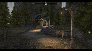 Alchemists Hidden Valley - Skyrim House Mod
