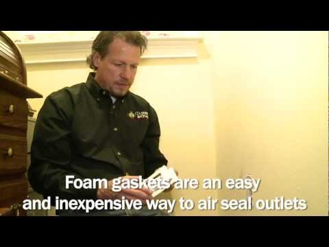 Electrical outlets are a common and often overlooked source of air leakage in a home. As the heated air inside the house moves upwards, new air is sucked in from any openings in the building envelope, including electrical outlets. In this video, Larry Janesky, owner and president of Dr. Energy Saver, demonstrates simple ways to air seal a typical electrical outlet with some caulking, an inexpensive gasket and child-proofing caps. This is a simple project that anyone can do and goes a long way in conserving energy. Just make sure you take all safety precautions, like turning off the circuit for the sections of the house and the outlets where you are working.Many houses have two or three times the amount of air leakage that building scientists recommend for optimum energy efficiency and indoor air quality. That is the equivalent of having a window open 24/7, year round! A properly sealed building envelope is one of the main components of a green, energy efficient home. By having your home professionally sealed, you can reduce your heating & cooling costs by 20% or more.If you want to learn more about air sealing and many other ways to save energy and money at home, visit our website or call Dr. Energy Saver for a comprehensive Home Energy Audit!