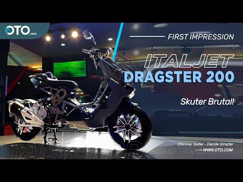 Italjet Dragster | Literally Telanjang! | IIMS 2021