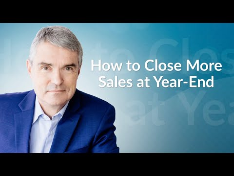 How Do You Close More Sales at Year-End?