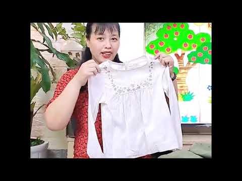 Dạy trẻ kỹ năng gấp quần áo