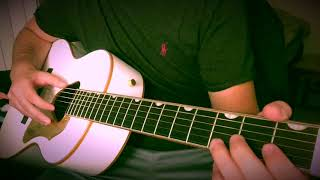 How to play The Chain (from The Dance) on guitar by Fleetwood Mac- Fingerstyle guitar tutorial