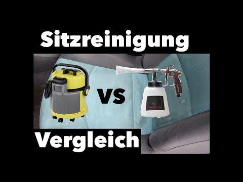 Sitzreinigung: Tornador vs. Waschsauger - Tornador als Polsterreiniger?!