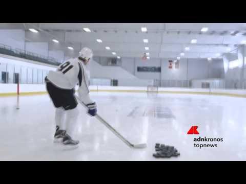 Il giocatore di hockey che abbatte i droni
