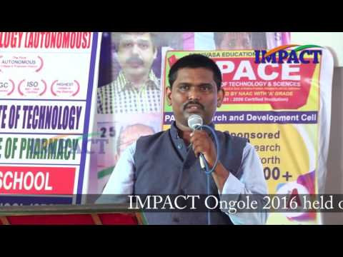 Blogging Tips |Sai Satish | TELUGU IMPACT Ongole 2016