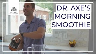 Dr. Axes Morning Smoothie | Ancient Nutrition