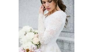 Long Sleeve Modest Wedding Dresses