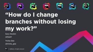 How to change branch without losing your work