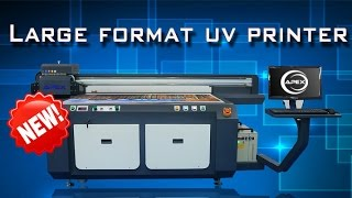 New Digital UV Flatbed Printer UV1610