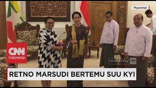 Retno Marsudi Bertemu Suu Kyi, Apa Saja Yang Dibahas?