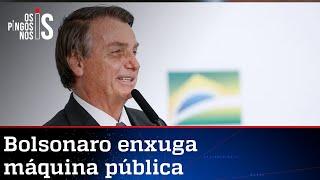 Sob Bolsonaro, Brasil tem redução inédita de servidores federais