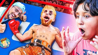 I NEEDED JAKE PAUL to LOSE the Fight!  $$$ LOST! (FV Family Boxing Vlog: Cleveland, Ohio)