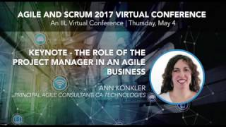 Watch our Keynote and Principal Agile Consultant for CA Technologies Ann Konkler