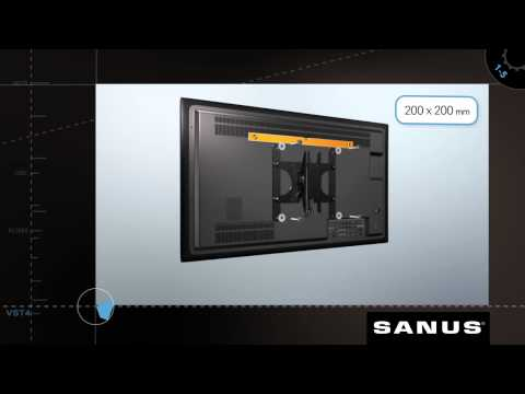 """Sanus VST4 (Muro, 39"""", 22.68kg)"""