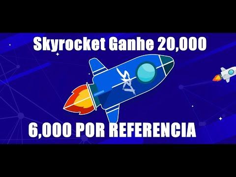 AIRDROP Skyrocket Ganhe 20k e 6k do Token SRT por referido