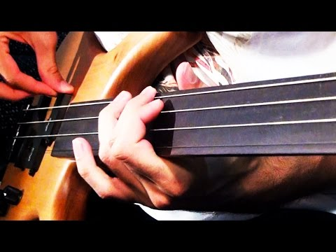 GUITAR STRINGS on BASS?!