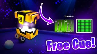 HOW TO GET THE LUCKY 8 CUE (free) - 8 Ball Pool