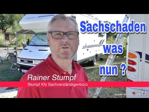Sachschaden am Camper...was nun?