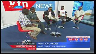 Sunday Edition: Political Pages - Raila cuts short US tour to attend to NASA crisis - 19/3/2017