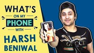 Harsh Beniwal: What's On My Phone   Phone Secrets Revealed   Youtube Star