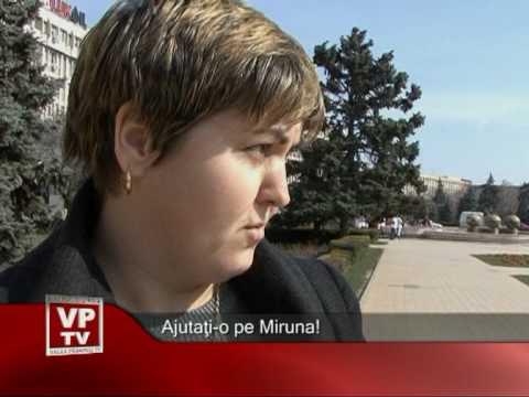 Ajutati-o pe Miruna!