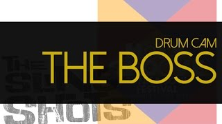 Edu Neto Drum Cam - The Slingshots - The Boss (live Switzerland. October 2014)
