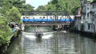 preview picture of video 'Thailand: Bangkok - Journey on the Khlong Saen Seap'