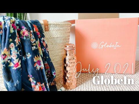 GlobeIn Artisan Box Unboxing July 2021