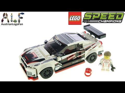 Vidéo LEGO Speed Champions 76896 : Nissan GT-R NISMO