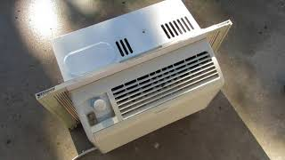 Window air conditioner leaking water inside - fix
