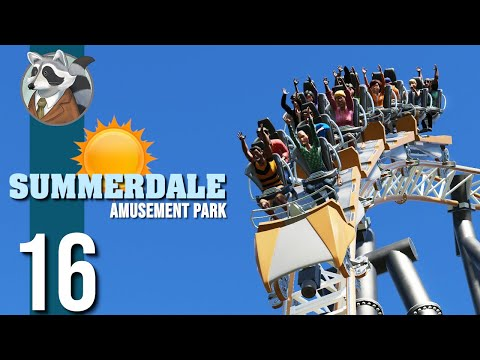 ☀Close to Completion   Summerdale Amusement Park   Planet Coaster Ep.16☀