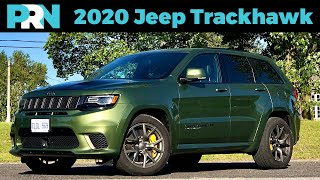 The Least Jeep-Jeep | 2020 Jeep Grand Cherokee Trackhawk Full Review