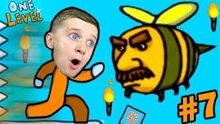 ПОБЕГ ИЗ ТЮРЬМЫ в Игре One LEVEL 2 #7 СТИКМАН Stickman Escape Prison! Детский ЛеТсплей от FFGTV