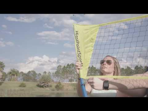 EastPoint® Sports Easy Setup Badminton Set - Assembly Video