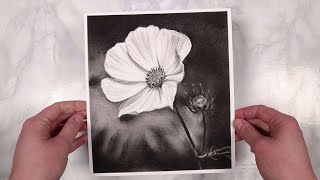 Charcoal Flower Tutorial